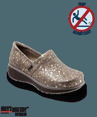 Grey's Anatomy by SoftWalk Gold Metallic Meredith Nursing Shoe