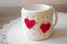 Hey, I found this really awesome Etsy listing at https://www.etsy.com/listing/216748262/cup-cozy-cup-warmer-mug-hug-wool-mug