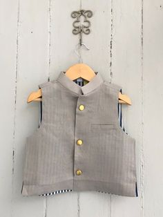 Kids Wardrobe, Vest, Children, Grey, Boys, Jackets, Dresses, Fashion, Young Children