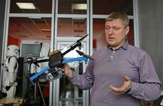 Ukrainians are making 3D printed drones to fight pro-Russian separatists