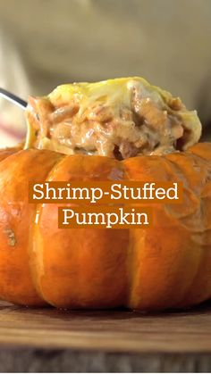 Shrimp Recipes, Appetizer Recipes, Dessert Recipes, Appetizers, Pumpkin Recipes, Fall Recipes, Mets, Love Food, Food To Make