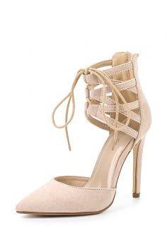 Туфли Ideal, цвет: бежевый. Артикул: ID005AWHML90. Женская обувь / Туфли