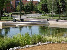 Graphisoft-Park-by-Garten-Studio-10-lakeside-nature « Landscape Architecture Works | Landezine