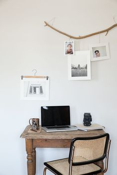 From meaningful photographs, to cool prints, these 20 ways to hang pictures can liven up your dorm room.