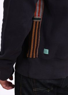 880be75559b Paul Smith Red Ear Detail Crew Sweater - Navy Blue - Paul Smith Red Ear from  Triads UK