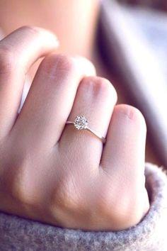 Wedding Rings Simple, Diamond Wedding Rings, Bridal Rings, Unique Rings, Simple Promise Rings, Wedding Bands, Simple Rings, Stylish Rings, Beautiful Rings