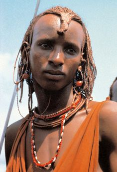 """Africa   """"Masai, Samburu and nomads""""   © """"Leni Riefenstahl in Africa"""", published 2002 to mark her 100th birthday"""