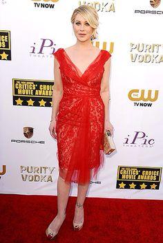 Christina Applegate in Marchesa #Critics Choice Awards #USWeekly