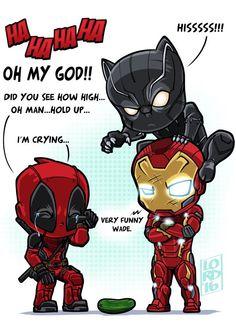 Classic Deadpool joke by Lord Mesa