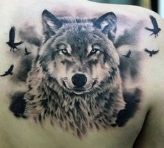 Wolf tattoo designs as the expression of ultimate freedom - Page 26 of 30