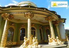 Wie wäre es mit einem Spaziergang durch den Park Sanssouci in Potsdam?  www.schulfahrt.de #Klassenfahrt #Potsdam #Deutschland