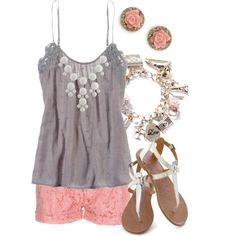 Girly Girl by qtpiekelso on Polyvore