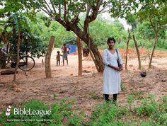 Pastor Seyamatheepa started a Bible study at this site in Sri Lanka.