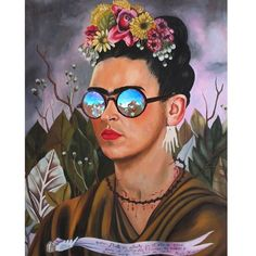Art gets a fashion makeover.... Frida looks badass.