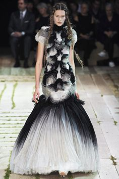 weird and wonderful Alexander McQueen Spring 2011 RTW