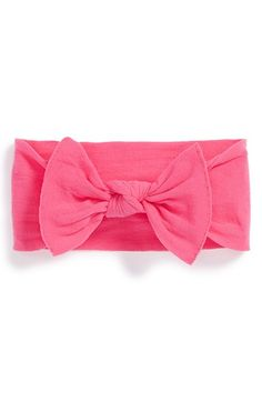 Free shipping and returns on Baby Bling Headband (Baby Girls) at Nordstrom.com. A bold bow provides an adorable embellishment for a gauzy headband.