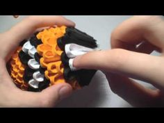 3D origami clown fish tutorial - YouTube