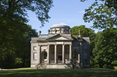The Chapel at Gibside, near Gateshead, Tine and Wear.. where the stables would suit me just fine- thank you James Paine! Do click through to see that.  After all, small is relative in the world of British country houses.
