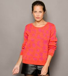 Sweater Panther - Coral en DeluxeBuys!