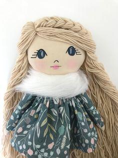 Little Wildwood Dolls Diy Rag Dolls, Sewing Dolls, Diy Doll, Felt Dolls, Crochet Dolls, Doll And Em, Mermaid Kisses, Doll Home, Mattel Dolls