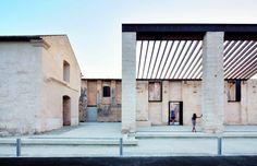 Venice Biennale 2012: Catalan and Balearic Islands Pavilion - Restoration of Can Ribas Factory / Jaime J. Ferrer Forés; © José Hevia