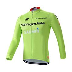 Amazon.com   Strgao 2016 Men s Pro Racing Team Garmin Cannondale MTB bike  Bicycle Cycling Long Sleeve Jersey Jacket   Sports   Outdoors 1cc0142e502