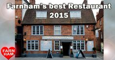 We've been voted Best Restaurant in Farnham, Surrey! Thanks to everyone for voting for us!