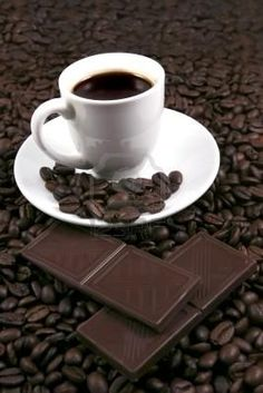 Coffee& chocolate boost your energy.