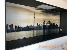 Glaswand Keuken Foto : Best glaswand keuken met afbeelding backsplash with prints