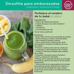 Smoothie embarazadas