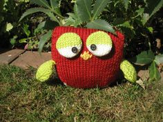 Another Amanda Berry's Owl from Let's Get Crafting