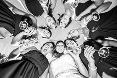 Best Bridesmaids! Fun photo.