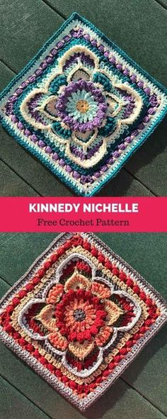 Transcendent Crochet a Solid Granny Square Ideas. Inconceivable Crochet a Solid Granny Square Ideas. Modern Crochet Blanket, Crochet Squares Afghan, Crochet For Beginners Blanket, Granny Square Crochet Pattern, Crochet Blocks, Crochet Blanket Patterns, Crochet Motif, Crochet Doilies, Crochet Stitches