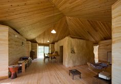 Bale Home Straw House | Straw Bale House In The Valley Of The Newt