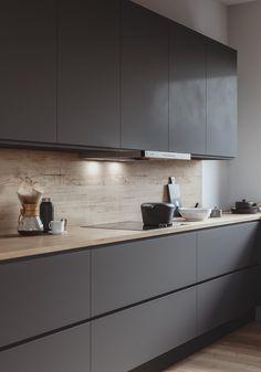 KS Kitchen on Behance KS Kitchen on Behance – Minimalist 2020 Luxury Kitchen Design, Kitchen Room Design, Home Decor Kitchen, Interior Design Kitchen, Kitchen Furniture, Kitchen Layout, Kitchen Modern, Minimal Kitchen Design, Kitchen Ideas