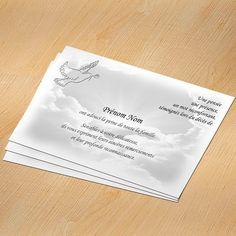 carte de remerciements d c s th me animaux duo de colombes cartes de remerciements. Black Bedroom Furniture Sets. Home Design Ideas