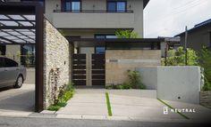 リクシルのプラスGで邸宅の雰囲気を実現したエクステリア施工例