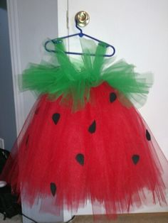 Strawberry tutu. https://www.facebook.com/LittleMunkinsBoutique