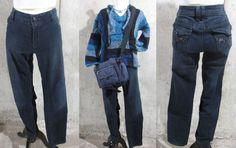 Maurices Ladies Large Blue Jean Skinny Jean, Dark Denim Skinny Jeans #Maurices #SlimSkinny