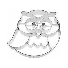 Kiszúróforma Frido a bagoly Owl Cookie Cutter, Christmas Tree Cookie Cutter, Animal Cookie Cutters, Owl Party Food, Owl Classroom, Owl Cakes, Diy Wedding Favors, Wedding Souvenir, Owl Bird