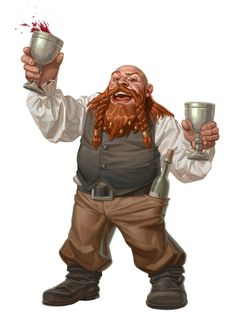 Party Dwarf by ~capprotti on deviantART