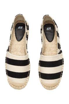 Striped espadrilles   H&M