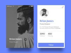 Designer Profile Card