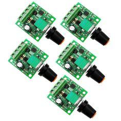 Motor Speed Control DC1.8V 3V 6V 12V 2A PWM Adjustable Speed Regulator Switch   #UniqueGoods