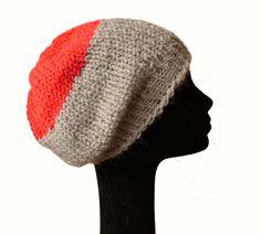 Baby Alpaca Slouch Beanie Hat