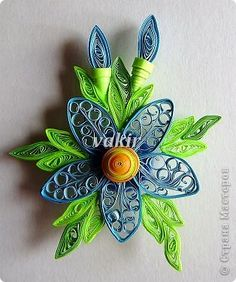 This page has beautiful quilling creations