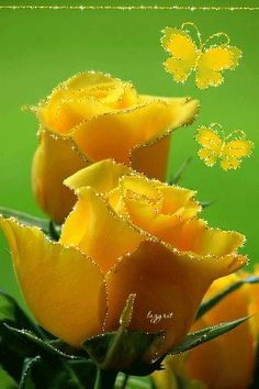 Captivating Why Rose Gardening Is So Addictive Ideas. Stupefying Why Rose Gardening Is So Addictive Ideas. Roses Gif, Flowers Gif, Pretty Flowers, Beautiful Gif, Beautiful Roses, Beautiful Gardens, Colorful Roses, Rose Bush, Yellow Roses