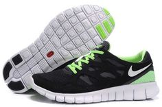 Nike free run 2 barefoot womens running shoes - nike fre Nike Free Run 2, Black Nike Free Runs, Nike Free Shoes, Nike Shoes Outlet, Nike Air Max Ltd, Nike Air Max 2012, Adidas Workout Clothes, Tn Nike, Popular Sneakers