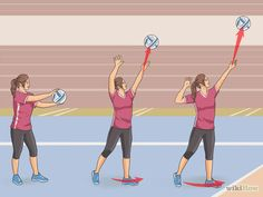Image titled Serve a Volleyball Overhand Step 15