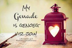 My grenade is genie vir jou! #genade #genoeg #geseënd #God #Here #HeiligeGees #Vader #Jesus #JesusChristus #LiefdevirJesusChristus